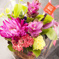 歓送迎会☆一番人気!花束をプレゼント☆