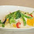 料理メニュー写真たっぷり野菜のクリームソース