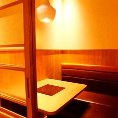 【2名様用個室】デートや女子会にぴったりのお席です。