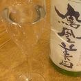 オーナー選りすぐりの日本酒常時20種以上をラインナップ。