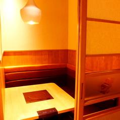 【2名様用個室】こちらも2名様用の完全個室となっております。