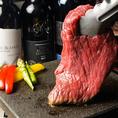 もちろん宴会プランのアラカルトメニューにもこだわりを・・・ 川崎屋のお肉を始め豪快なロブスターまで種類豊富に取り揃えております。