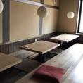 【2階席】宴会可能の2階は大人数大歓迎!お気軽にお問い合わせください!