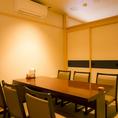 エアコン完備の個室!快適空間をご提供!同じタイプの4名様用お席も御座います!