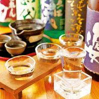 天ぷらと相性抜群!拘り日本酒メニュー