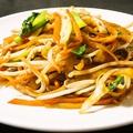料理メニュー写真焼き刀削麺