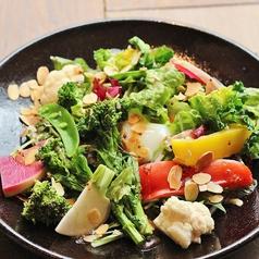 蒸し野菜のサラダ ハニーマスタードドレッシング