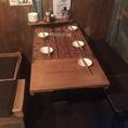 雰囲気◎なテーブル席もご用意。