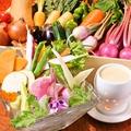 料理メニュー写真バーニャカウダ~契約農家から届く朝獲れ野菜~