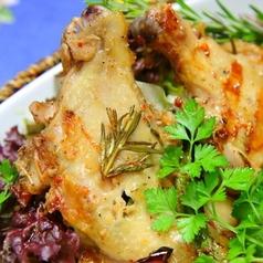 若鶏の特製オイル漬け小悪魔風グリル