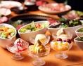 コスパ抜群の焼肉食べ放題1980円(税抜)~!焼肉はもちろんサイドメニューも豊富!70種以上ご用意致しております!ソフトクリームや黒糖おさつバターなどデザートも10品以上♪