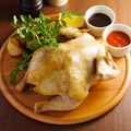 料理メニュー写真ロティサリーチキン 1羽