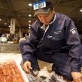 市場の達人のおすすめ魚貝類が目白押し!!