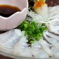 料理メニュー写真穴子のお刺身