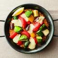 料理メニュー写真野菜とモッツァレラチーズのパエリア