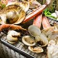 料理メニュー写真漁師焼き 小波(3種盛り)