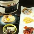 料理メニュー写真えいひれ・鮭トバ・あたりめ炙り三点盛り
