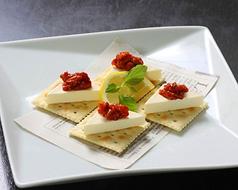 チャンジャとクリームチーズ