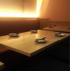 お洒落な空間をまとった大人の時間を過ごすのに最適な席をご用意します♪
