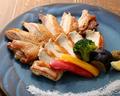 料理メニュー写真比内地鶏 豪華塩焼き