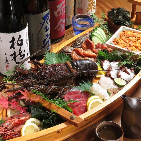 生け簀あり☆旬の海の幸を存分に味わえる!元魚屋が経営する活魚料理のお店♪