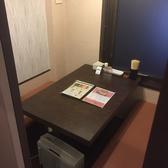1Fのテーブル個室。脚が楽な所がテーブル席の魅力!ゆったり座れるテーブル席なのでご年配の方や足の悪い方にも喜ばれるお席です。