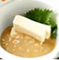 料理メニュー写真手作り塩辛とクリームチーズ