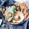 料理メニュー写真魚介のグリルコンボ