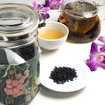 【飲み放題もOK★中国茶全20種】 ライチ紅茶ライチの香りとやさしい甘みが引き立っているお茶です。砂糖を入れなくても自然の甘みがあるので、食後のデザートティーとして最適。