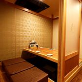 【2F】6名様個室×6/8名個室×1/10名個室×1/14名個室×3/最大60名前後までの2Fの完全個室席