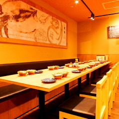 天ぷら海鮮 麦福 MUGI-FUKU 京都アバンティ店の雰囲気1