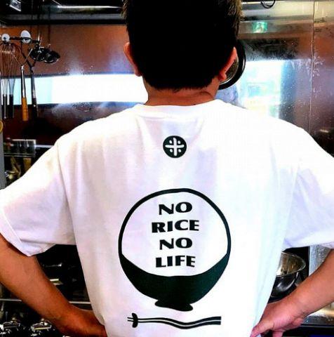 Tシャツにしてしまうほどお米が大好き!こだわって炊いています!美味しいご飯と料理でお腹いっぱいお楽しみください♪