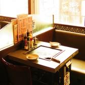 【2~4名様◎】人気のテーブル席。座敷席でゆったり、常連様にもご好評です。