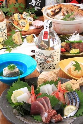 ☆魚が美味い居酒屋!素材の魅力を生かした「和」中心のメニューを堪能あれ☆