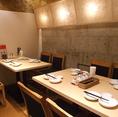半個室のテーブル席浜松町/大門/中華/食べ放題/飲み放題/居酒屋/宴会/ランチ/個室/安い/歓迎会/送別会