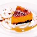 料理メニュー写真パンプキンチーズケーキ