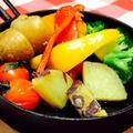 料理メニュー写真横浜野菜5種 窯焼きバーニャカウダ