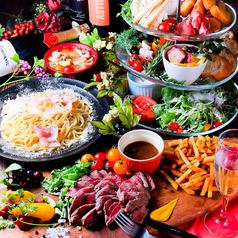 肉バル ヴァンサンカン 25ans 栄のコース写真