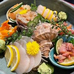 貝類盛り合わせ五種