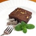 料理メニュー写真チョコレートテリーヌ