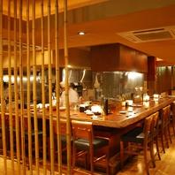 魅せるオープンキッチン!!