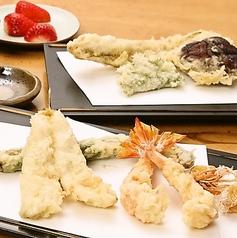 天ぷら 天秀 新宿のコース写真