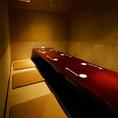 【3.5階:掘り炬燵個室】3.5階フロアの奥にある掘り炬燵個室です。2~6名様と6~12名様の大きさの違う2部屋をご用意。