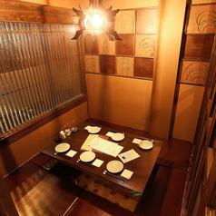 2名様~ご利用人数によって変わる可動式の仕切りのある個室空間です。接待などのお仕事でも、プライベート飲み会などにも最適です。様々なシーンでご利用頂けますので、お気軽にお越しくださいませ☆また飲み放題付き宴会コースも多数ございます。【山科駅/居酒屋/飲み放題/日本酒/魚/おばんざい/宴会/飲み会/個室/大人数】