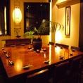 1階、ビッグテーブル