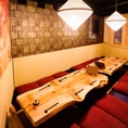 宴会や接待、会食にオススメの掘りごたつ付き個室。〈渋谷 居酒屋 和食 女子会 デート 誕生日 飲み放題 個室〉