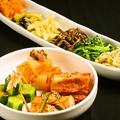 料理メニュー写真ペチュキムチ/カクテキ/オイキムチ/季節のキムチ