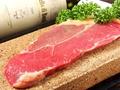 料理メニュー写真石焼サーロインステーキ