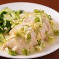 料理メニュー写真塩水鶏(エンスイジー)