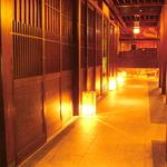 日本の「わび・さび」を感じられる落ち着いた店内をご紹介